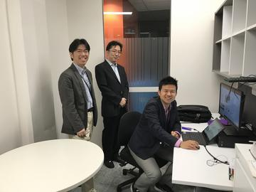 PaCCSC訪問松岡先生オフィス