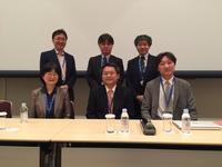 J-SUPPORTの内富代表・全田・山口執行委員が日本癌学会のシンポジウムで発表しました